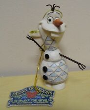 """Disney Traditions Enesco Jim Shore 3.5"""" Frozen Olaf Snowman Ornament"""