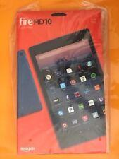NEW Amazon Kindle Fire HD 10 hands free Alexa 32GB 7th Gen 2017 Marine Blue