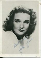 LOLA LANE ACTRESS IN FILM NOIR THEY MADE ME A KILLER SIGNED PHOTO AUTOGRAPH