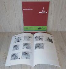 Werkstatthandbuch Deutz Fahrgestell Traktor D6206