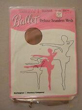 Ballet Deluxe Seamless Mesh Hosiery- Debonair- Size 10L - 2 pair