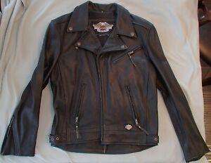Harley Davidson Leather Jacket Women's Medium