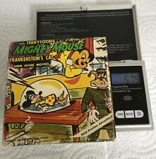 MIGHTY MOUSE/ TERRYTOONS/ 8MM HOME MOVIES/ FRANKENSTEIN'S CAT/ 525/ 1963