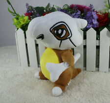 Cute Pokemon Cubone Plush Toy Figure Stuffed  Doll 7 Inch Best Xmas Gift