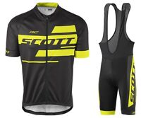 Mens Cycling Summer Short Sleeve Jersey Bib Shorts Kits Shirt Brace Tights