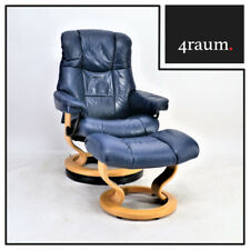 Ekornes Stressless Mayfair Sessel (S) mit Hocker Leder Relax Gamer Fernseh Top!