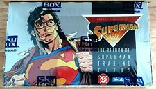 Return of Superman 36 Pack Factory Sealed Box 1993 Skybox DC From a Fresh Case