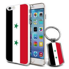Syria Flag Hard Case Cover & Free Keyring For Various Mobiles