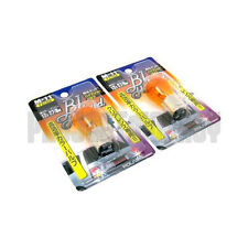 Polarg M11 Bl Hybrid 1157 Amber Orange Light Bulbs Lightbulbs Pair M-11 JDM