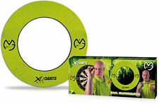 XQ-Max - Dart Board Surround Michael Mighty van Gerwen Green (Steel-Dart) NEU