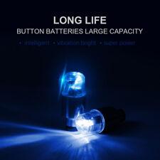 4pcs Blue LED Motorcycle Bike Car Wheel Tyre Tire Valve Stem Light Lamp Bulb