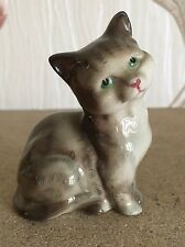 ROYAL DOULTON CAT PERSIAN KITTEN No DA 123 GREY GLOSS PERFECT CONDITION