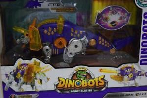 Dinobots Triceratops Dino Dinosaur Robot Transformer Blaster Soft Foam Gun