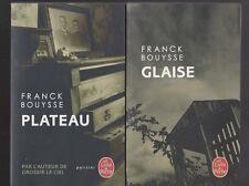 GLAISE - PLATEAU Franck Bouysse livre policier roman