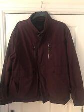 BNWT Para Hombre M&S 3XL oscuro Claret stormwear Abrigo/Chaqueta worth £ 79