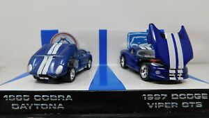 1/43 Hot Wheels Collectibles 35th Ann. of the Shelby Cobra 2 Car Set #16742