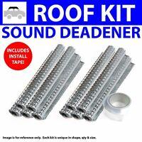 Zirgo 318261 Heat /& Sound Deadener for Chevy S10 ~ Master Stg2 Kit