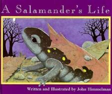 A Salamander's Life (Nature Upclose)-ExLibrary