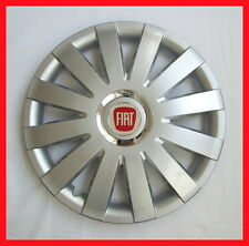 "4 x15"" Wheel trims fit Fiat Punto, Panda, Doblo, Multipla, Stilo, 500 - silver"