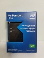 Western Digital My Passport Ultra 2TB_Portable External Hard Drive_USB 3.0_New