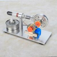 Stirling Engine Motor Model Mini Hot Air Steam Power Physics Education Model Toy