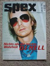 SPEX Magazin 215 Okt. 1998 Nr. 10 DJ Hell R.E.M. Hole Placebo