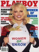 PLAYBOY AUGUST 2002 Christina Santiago Harrison Ford Amanda Peet Renee Tenison