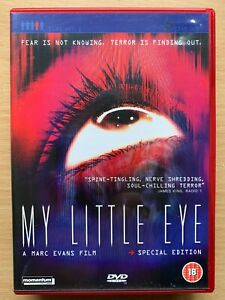 My Little Eye DVD 2002 British BIG BROTHER Reality TV Horror Movie 2-Discs