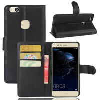 For Huawei P10 Lite Flip Wallet Slot Soft Case/Cover/Card Holder Kickstand Pouch