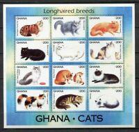 36518) Ghana 1994 MNH New Cats M/S