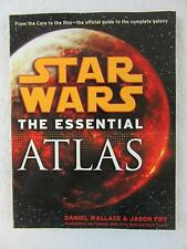 Daniel Wallace and Jason Fry STAR WARS THE ESSENTIAL ATLAS Ballantine 2009