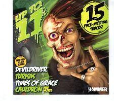 (GR781) Metal Hammer: Up To 11, 15 tracks various artists - 2011 CD