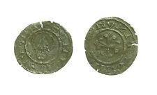 pcc1577_20) Milano II Repubblica 1447-1450 Denaro con Volto S. Ambrogio MIR 147