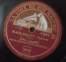 DUKE ELLINGTON AND HIS ORCHESTRA SOLITUDE/BLACK BEAUTY FRENCH  78rpm K.8304