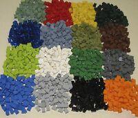 LEGO COLORED 1 X 1 BRICKS BUILDING BLOCKS YOU PICK 100 PER LOT