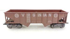 Marx Trains 28236 Virginian Hopper VGN O Scale