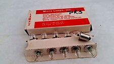 New listing Micro Lamp Pr3 Incand Miniature Flashlight Lamp 3.57V .30A B3-1/2 Base Lot 10Pc