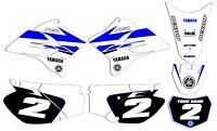 2005 - 2019 Yamaha TTR 230 GRAPHICS  KIT DECALS DECO  TTR230 White