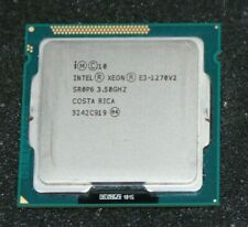 Intel Xeon E3-1270V2 Quad-Core  Processor (SR0P6, 3.50 Up To 3.90 GHz)