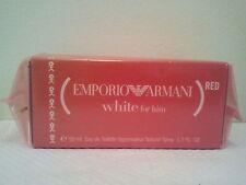 EMPORIO GIORGIO ARMANI HE RED WHITE FOR HIM MENS EDT PERFUME FRAGRANCE 50ML NEW