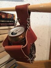 Nalgene Water Bottle Holder Home Made Light Leather Chain