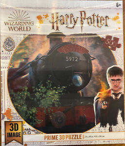 Harry Potter 3D Prime Puzzle 500 Pcs Hogwarts Express  Wizarding World NIP Train