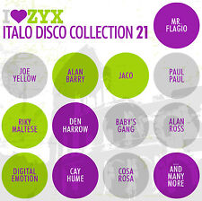 CD ZYX italo discoteca Collection vol.21 di Various Artists 3cds