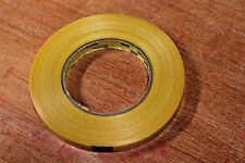 (2) 3M Scotch Strapping Tape Rolls 1/2' wide 60 yards long Yellow