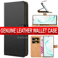 Case For Samsung Galaxy Note 10 Plus Cover Flip Wallet Leather Magnetic Luxury