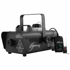 Chauvet DJ Hurricane 1000 Lightweight Fog Machine W/Wired + Wireless Remote