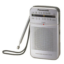 Panasonic RFP50DEG-S Portable AM/FM Radio Silver