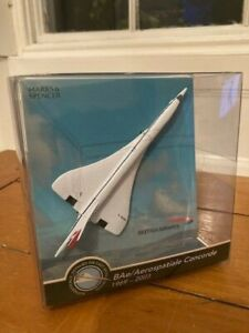 Diecast Corgi BAe/Aerospatiale CONCORDE 1969-2003 Aircraft with Display Stand