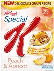 KELLOGGS Spécial K Pêche & abricot petit déjeuner céréale 3 x 320g