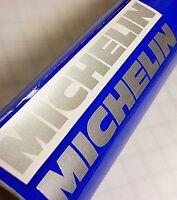 MICHELIN SILVER 8.25in decals gsxr r6 600 750 stickers nos 1000 katana ninja crx